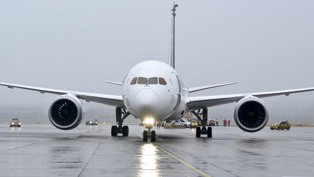 Eine Boeing 787 Dreamliner (Bild: APA/HERBERT NEUBAUER)