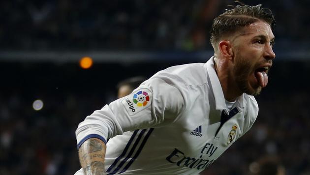 Real Madrid siegt dank Ramos-Tor in  Nachspielzeit (Bild: AP)