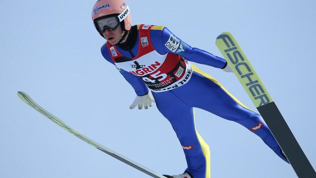 Stark! Kraft springt in Lillehammer auf Platz drei (Bild: GEPA)