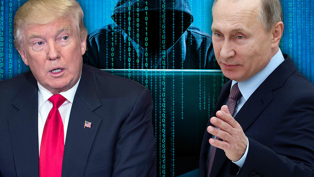Verhalf Putin Trump zum Wahlsieg? (Bild: thinkstockphotos.de, AFP/NICHOLAS KAMM, AFP/NICHOLAS KAMM)
