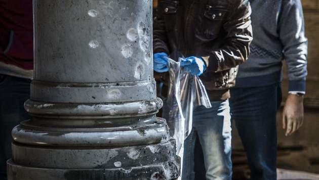 Bombe sollte gezielt Frauen und Kinder töten (Bild: APA/AFP/KHALED DESOUKI)