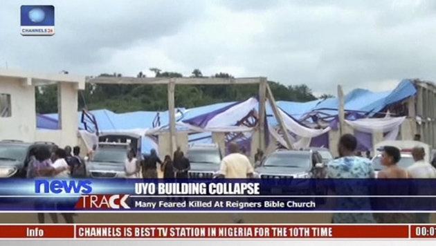 Bis zu 200 Tote bei Kircheneinsturz in Nigeria (Bild: ASSOCIATED PRESS)