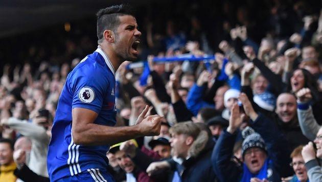 Chelsea nach Sieg durch Costa-Tor Tabellenführer (Bild: AFP)