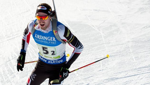 Geschwächte Biathlon-Staffel in Pokljuka Sechster (Bild: GEPA)