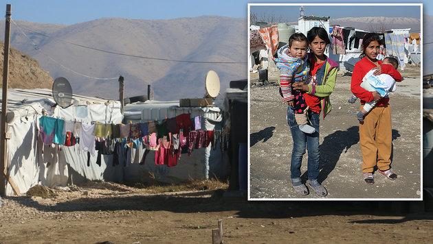 Libanon: Hinter den Bergen tobt der Krieg (Bild: Christoph Matzl, Ernst Grilnberger)