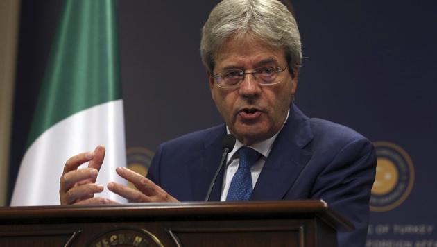 Paolo Gentiloni (Bild: AP)