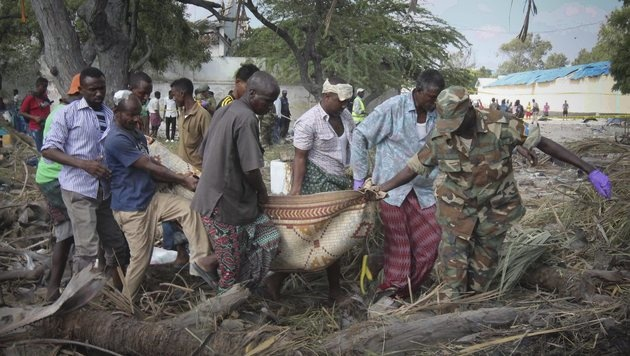 Somalia: Mindestens 30 Tote bei IS-Terroranschlag (Bild: EPA)