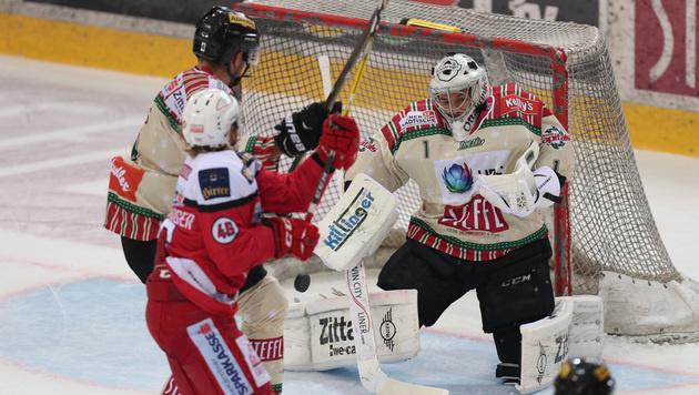 Vienna Capitals kassieren Heimniederlage gegen KAC (Bild: GEPA)