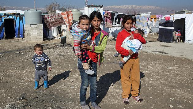 Libanon: Hinter den Bergen tobt der Krieg (Bild: Ernst Grilnberger)