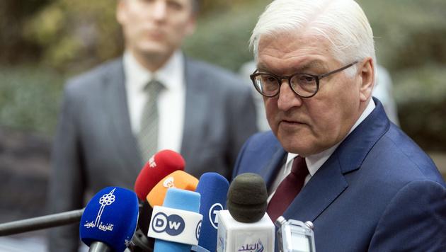 Deutschlands Außenminister Steinmeier (Bild: ASSOCIATED PRESS)