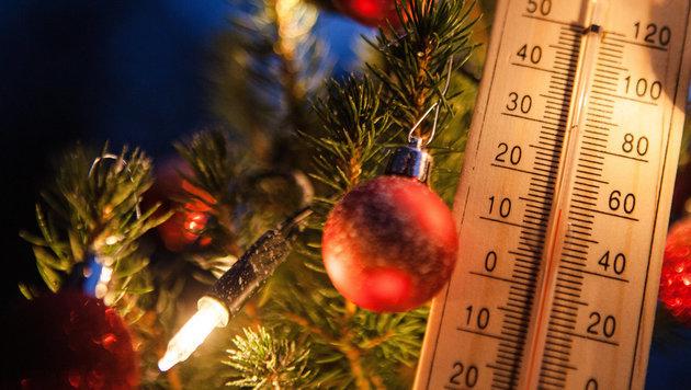 Das Wetter zu Weihnachten: Es wird mild und sonnig (Bild: APA/dpa/Christoph Schmidt)