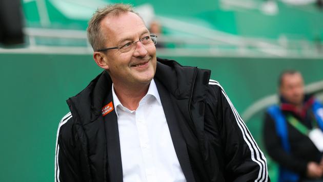 """Rapids Sportchef Bickel: """"Habe immer einen Plan B"""" (Bild: GEPA)"""