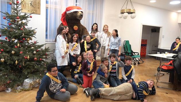 Tausend Wiener Kindern die Angst genommen (Bild: krone.at)