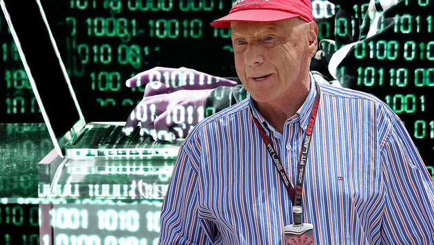 Hacker erleichtern Niki Lauda um Zehntausende Euro (Bild: EPA/VALDRIN XHEMAJ, thinkstockphotos.de)