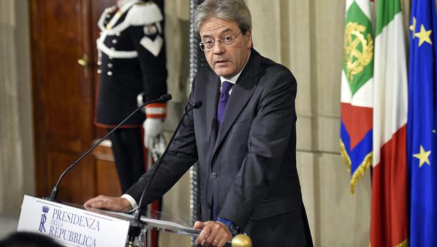 Der neue italienische Premier Gentiloni (Bild: ANSA)
