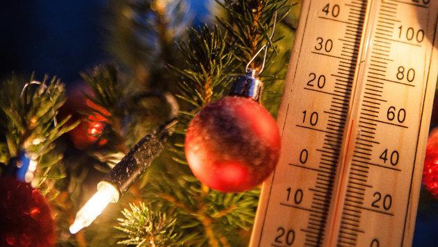 Keine Chancen auf weiße Weihnachten (Bild: APA/dpa/Christoph Schmidt)