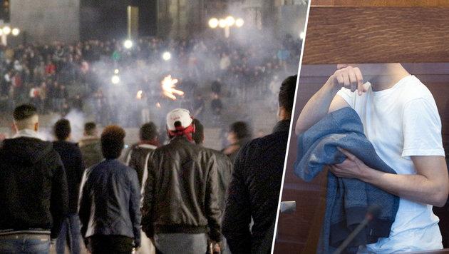 Kölner Sextäter kämpft gegen seine Abschiebung (Bild: APA/dpa/Markus Boehm, APA/dpa/Marius Becker)