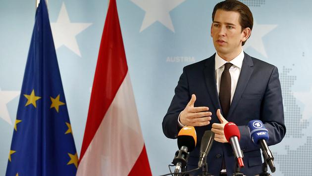 Kurz schmiedet Allianz gegen Türkei-Verhandlungen (Bild: AUSSENMINISTERIUM/DRAGAN TATIC)