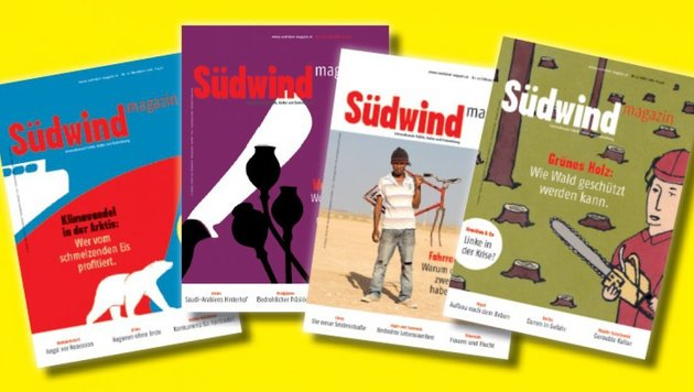 """Südwind-Magazin"" droht Aus wegen Förderstopp (Bild: Südwind-Magazin)"