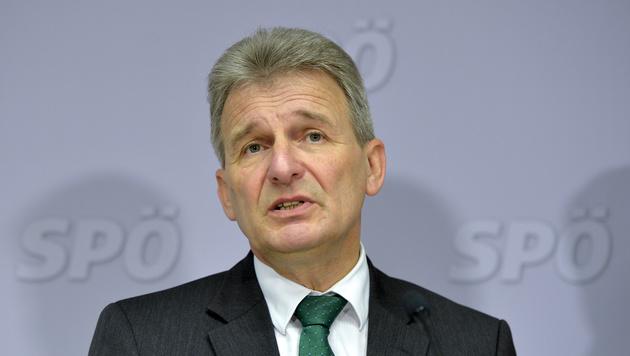 ÖGB-Präsident Erich Foglar (Bild: APA/HERBERT NEUBAUER)