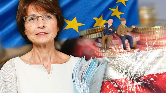 EU-Kommissarin Marianne Leonie Petrus Thyssen stellte einen Sozialplan für Arbeitslose vor. (Bild: APA/AFP/BELGA/THIERRY ROGE, dpa, thinkstockphotos.de)