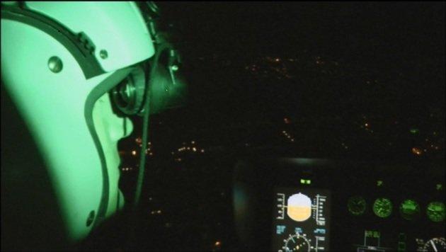 """Bub blendet Heli-Pilot mit Laser - Duo entkommen (Bild: """"Krone"""")"""