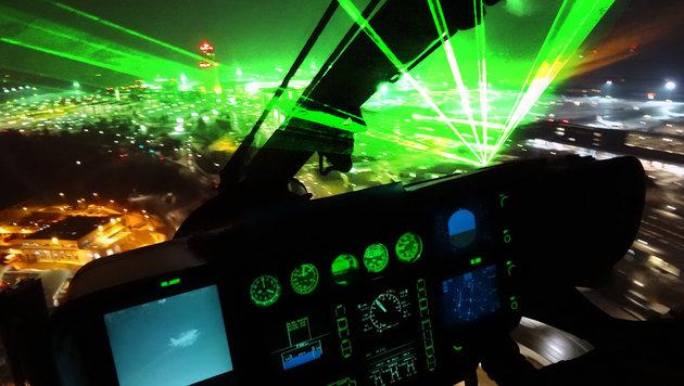 """Bub blendet Heli-Pilot mit Laser - Duo entkommen (Bild: """"Krone"""", thinkstockphotos.de)"""