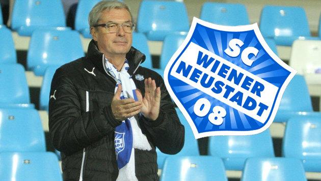 """Ex-AUA-Boss Alfred Ötsch - nun ebenfalls nicht mehr im Vorstand des SC Wiener Neustadt (Bild: """"Krone"""")"""