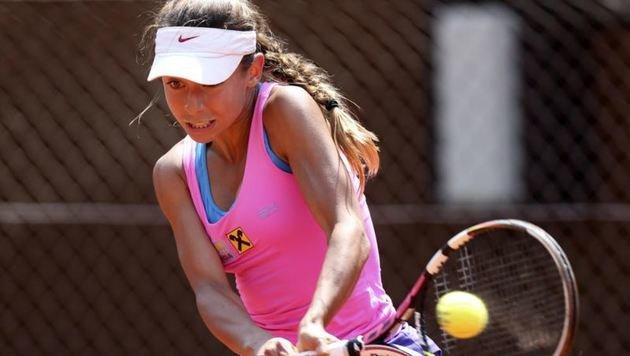 Arabella hat ihre Pflicht schon erledigt, ist in Florida ins Halbfinale gekommen - ein Wahnsinn! (Bild: Andreas Tröster)
