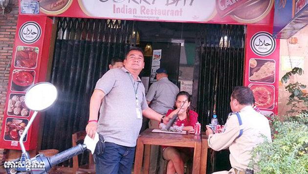 In diesem Gebäude in Phnom Penh hatte sich Michael W. einquartiert. (Bild: Krone)