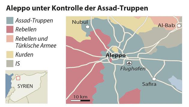 Assads Aleppo-Deal mit Rebellen brüskiert USA (Bild: APA)