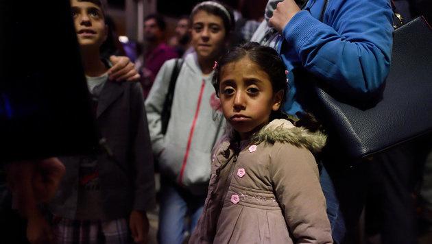 Minderjährige Flüchtlinge (Bild: dpa/Hendrik Schmidt)