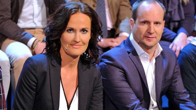 Glawischnig und Strolz (Bild: ORF)
