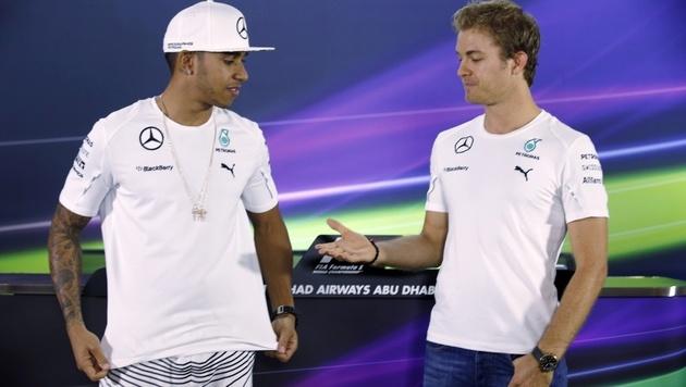 Formel-1-Start: Mercedes und das Hamilton-Dilemma (Bild: AP)