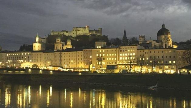 Die idyllische Fassade Salzburgs trügt. (Bild: Melanie Hutter)