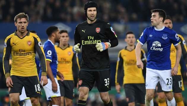 Arsenal verpasst mit 1:2 bei Everton Platz eins! (Bild: AFP)