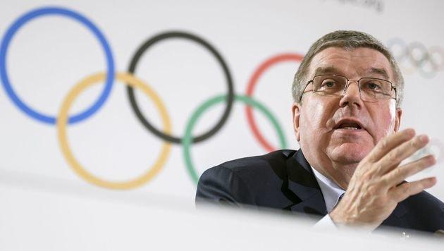 IOC-Chef: Doppelvergabe 2024 und 2028 möglich (Bild: AFP)