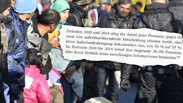 In vier Jahren 39.370 Asylwerber untergetaucht (Bild: APA/HARALD SCHNEIDER, Rechnungshof)