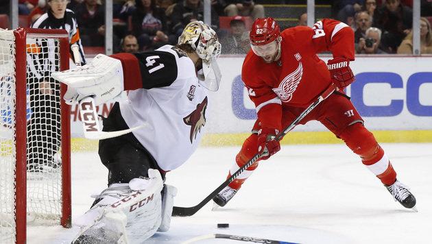 NHL-Niederlagen für Vanek und Grabner (Bild: AP)