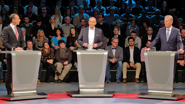"""Regierungsspitze: Streit """"nur im Ausnahmefall"""" (Bild: ORF)"""