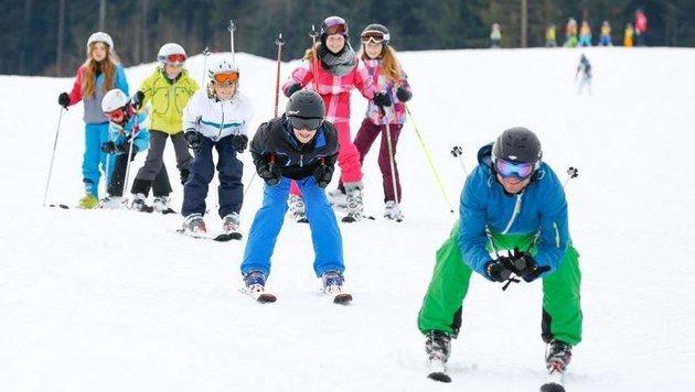 Unsere Skizukunft schaut gut aus (Bild: Gerhard Schiel)