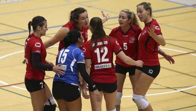 Volley-Girls schrammen an Sensation vorbei (Bild: Andreas Tröster)