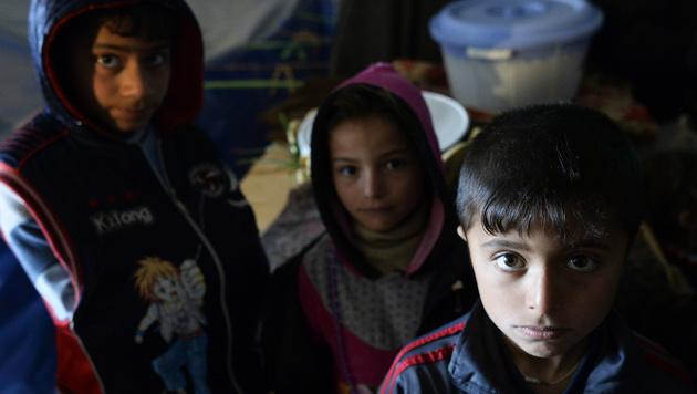 UNO-Bericht: 28.800 neue Flüchtlinge jeden Tag (Bild: APA/ROBERT JAEGER)