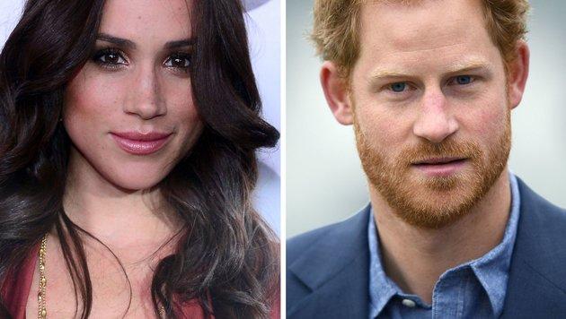 Meghan Markle, Prinz Harry (Bild: AFP)