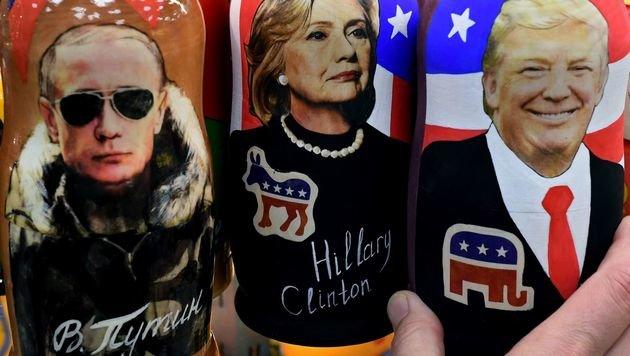 Auch Clinton gibt Putin Mitschuld an Niederlage (Bild: APA/AFP/KIRILL KUDRYAVTSEV)