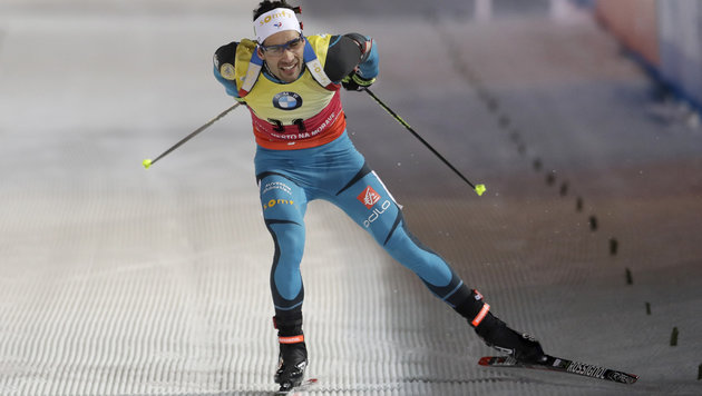 Fourcade gewann Sprint in Nove Mesto - Eberhard 9. (Bild: Associated Press)