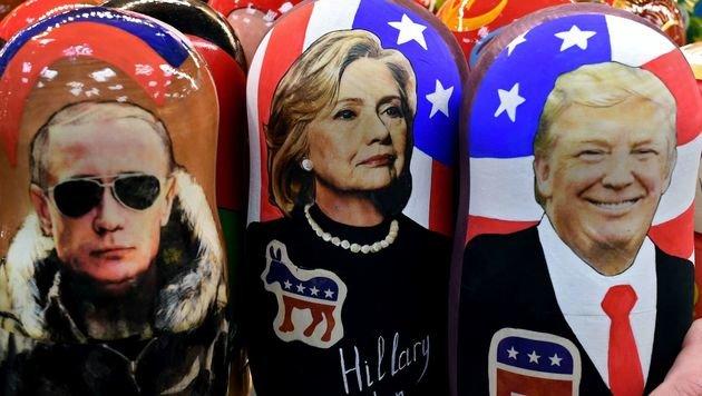 NBC: Putin selbst gab Anweisung für Clinton-Mails (Bild: APA/AFP/KIRILL KUDRYAVTSEV)