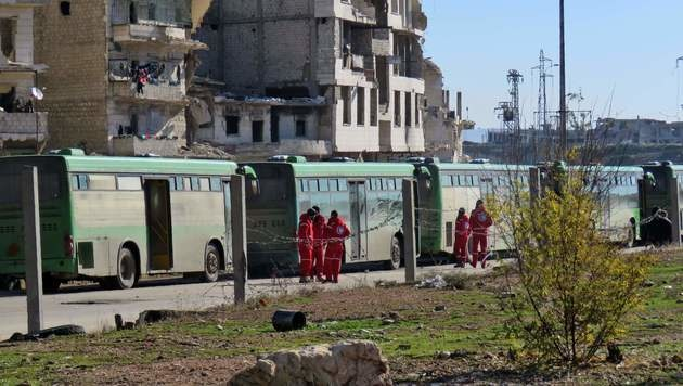 "Assad verkündet ""Befreiung"" von Aleppo (Bild: APA/AFP/STRINGER)"