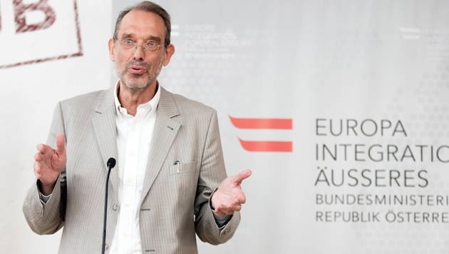 Migrationsexperte Heinz Fassmann (Bild: APA/GEORG HOCHMUTH)