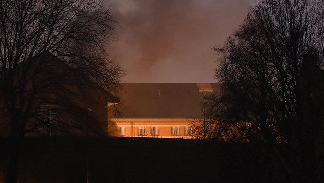 Gefangene übernahmen vier Trakte des HMP Birmingham. (Bild: ASSOCIATED PRESS)